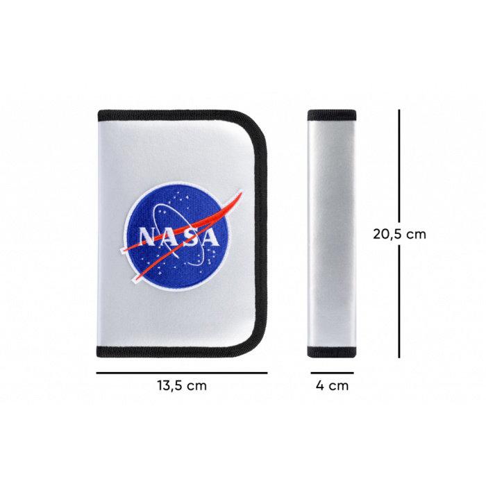Obrázek Školní penál klasik dvě chlopně NASA