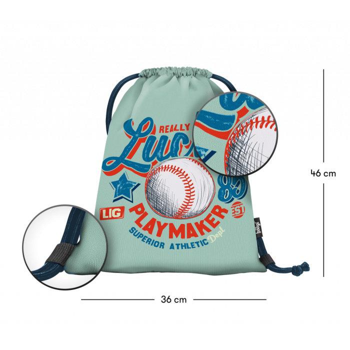 Obrázek Sáček na obuv Baseball - LUCKY