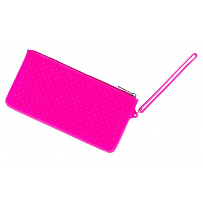 Obrázek Silikonové pouzdro neonově růžové