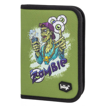 Obrázek Školní penál klasik dvě chlopně Zombie