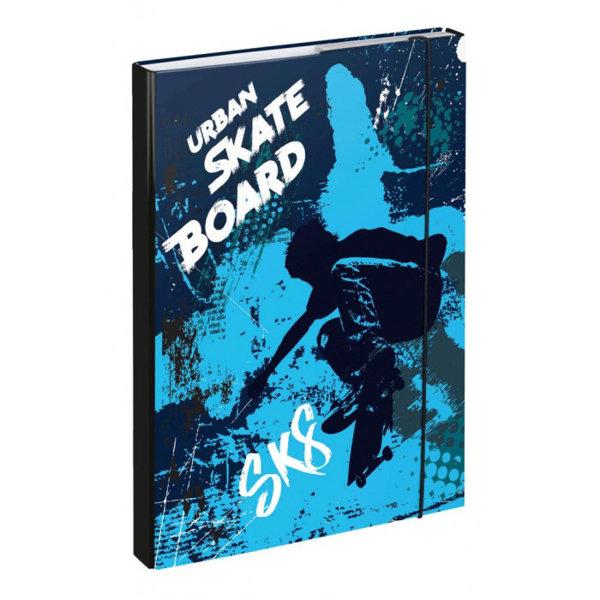 Obrázek Desky na školní sešity A4 Skateboard