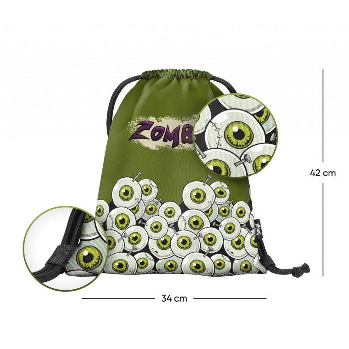 Obrázek Sáček na obuv Zombie