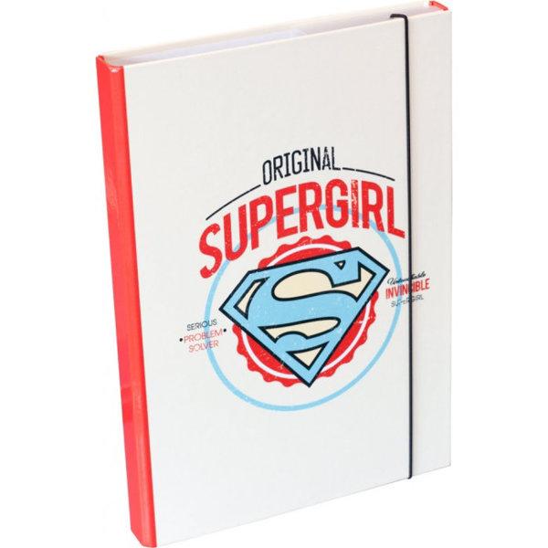 Obrázek Desky na školní sešity A4 Supergirl