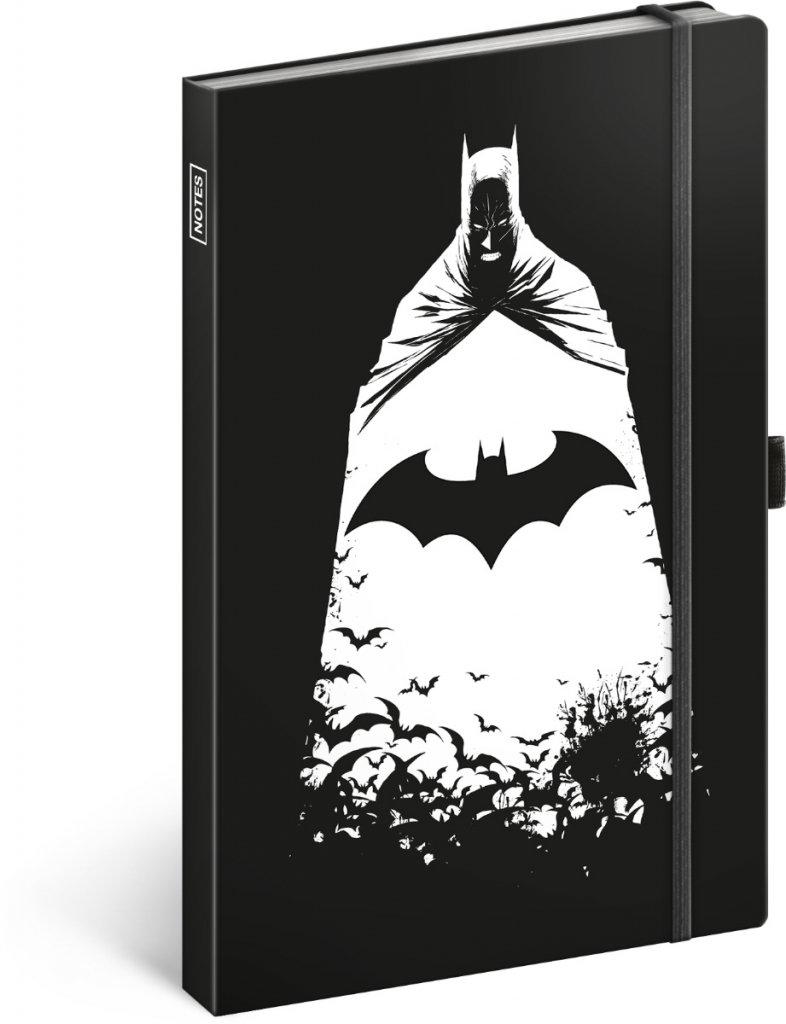 Obrázek Notes Batman, linkovaný, 13 × 21 cm