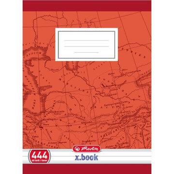 Obrázek Školní sešit 444, A4/40 listů, linka s okrajem