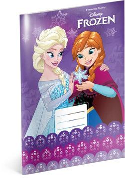 Obrázek Školní sešit Frozen – Ledové království Violet, A4, 20 listů, linkovaný
