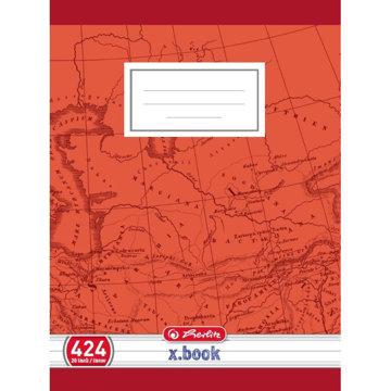 Obrázek Školní sešit 424, A4/20 listů, linka s okrajem