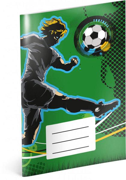 Obrázek Notýsek Fotbal, A6, 20 listů, linkovaný