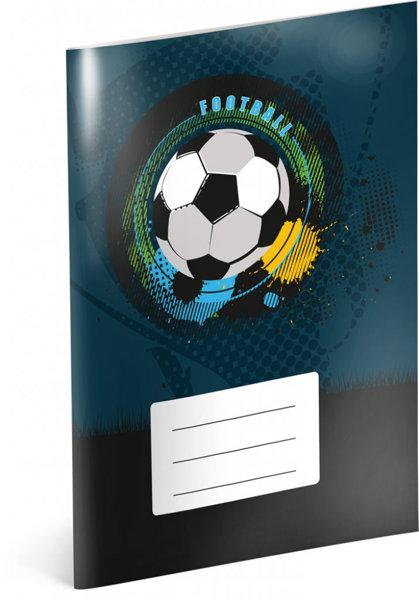 Obrázek Školní sešit Fotbal, A5, 40 listů, nelinkovaný