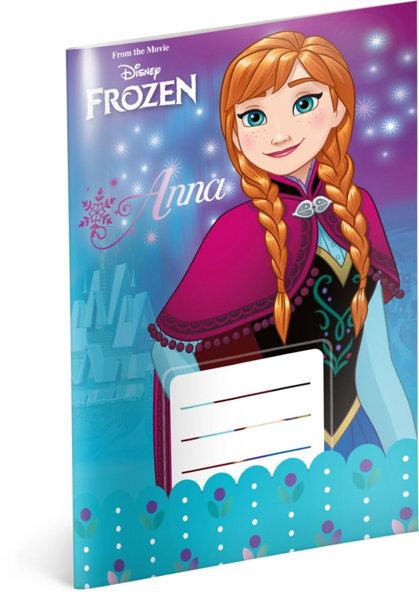 Obrázek Školní sešit Frozen – Ledové království Flower, A5, 20 listů, linkovaný
