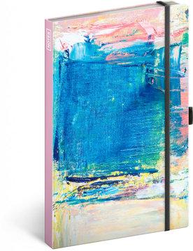 Obrázek Notes Malba, linkovaný, 13 × 21 cm