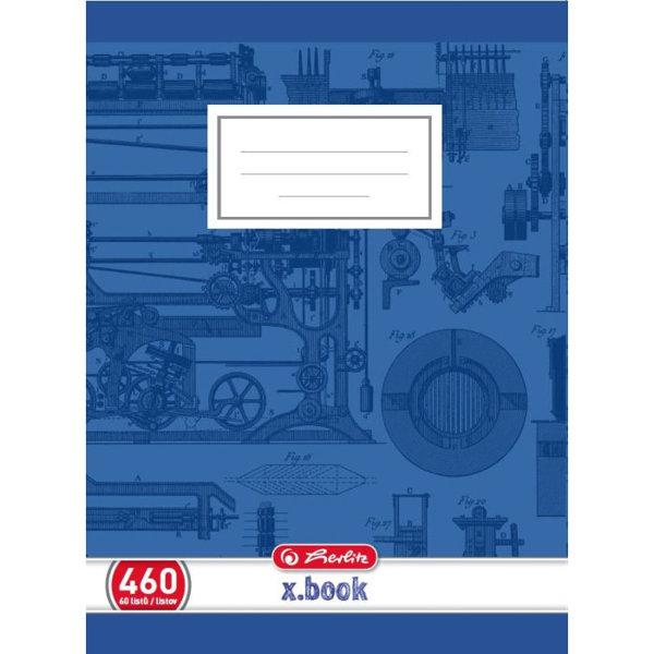Obrázek Školní sešit 460, A4/60 listů, čistý