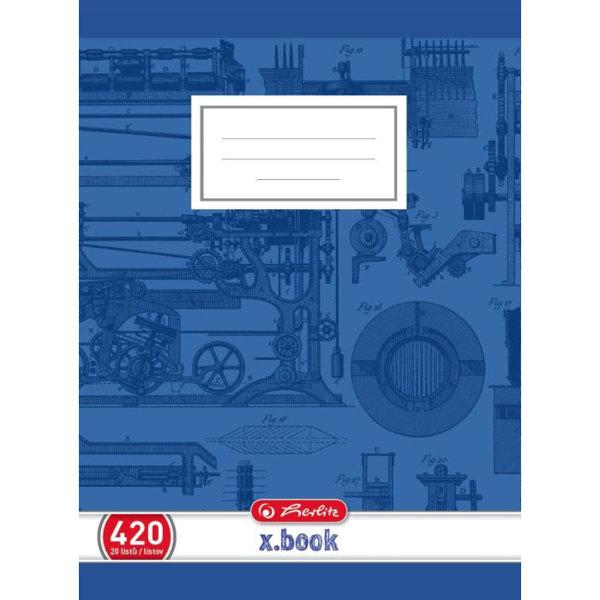 Obrázek Školní sešit 420, A4/20 listů, čistý