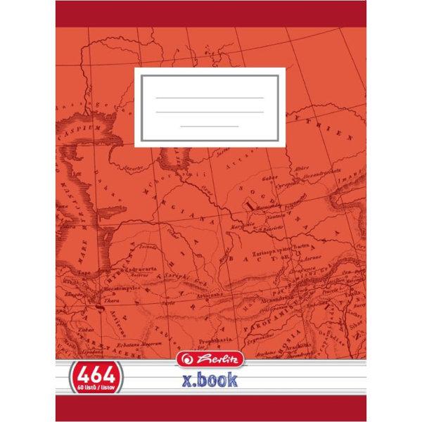 Obrázek Školní sešit 464, A4/60 listů, linka s okrajem