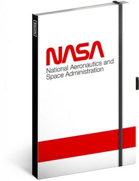 Obrázek Notes NASA Worm, linkovaný, 13 × 21 cm