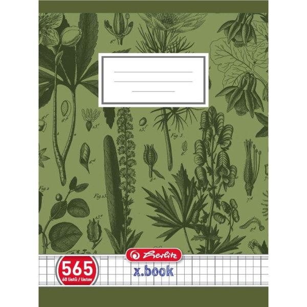 Obrázek Školní sešit 565, A5/60 listů, čtvereček