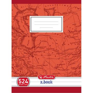 Obrázek Školní sešit 524, A5/20 listů, linka