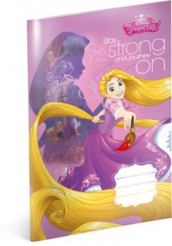 Obrázek Školní sešit Princezny – Rapunzel, A4, 20 listů, linkovaný