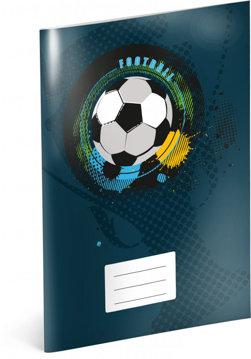 Obrázek Školní sešit Fotbal, A4, 40 listů, čtverečkovaný