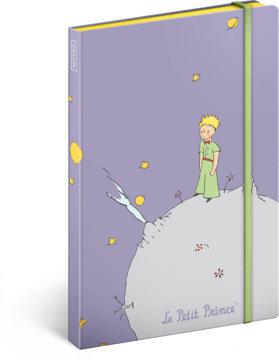 Obrázek Notes Malý princ – Planeta, nelinkovaný, 13 × 21 cm