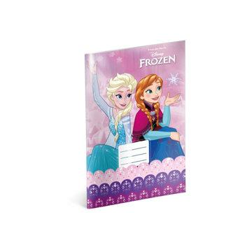 Obrázek Školní sešit Frozen – Ledové království Pink, A4, 20 listů, nelinkovaný