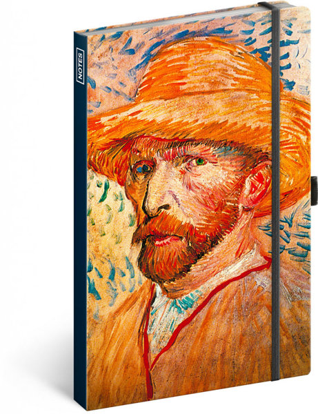 Obrázek Notes Vincent van Gogh, linkovaný, 13 × 21 cm