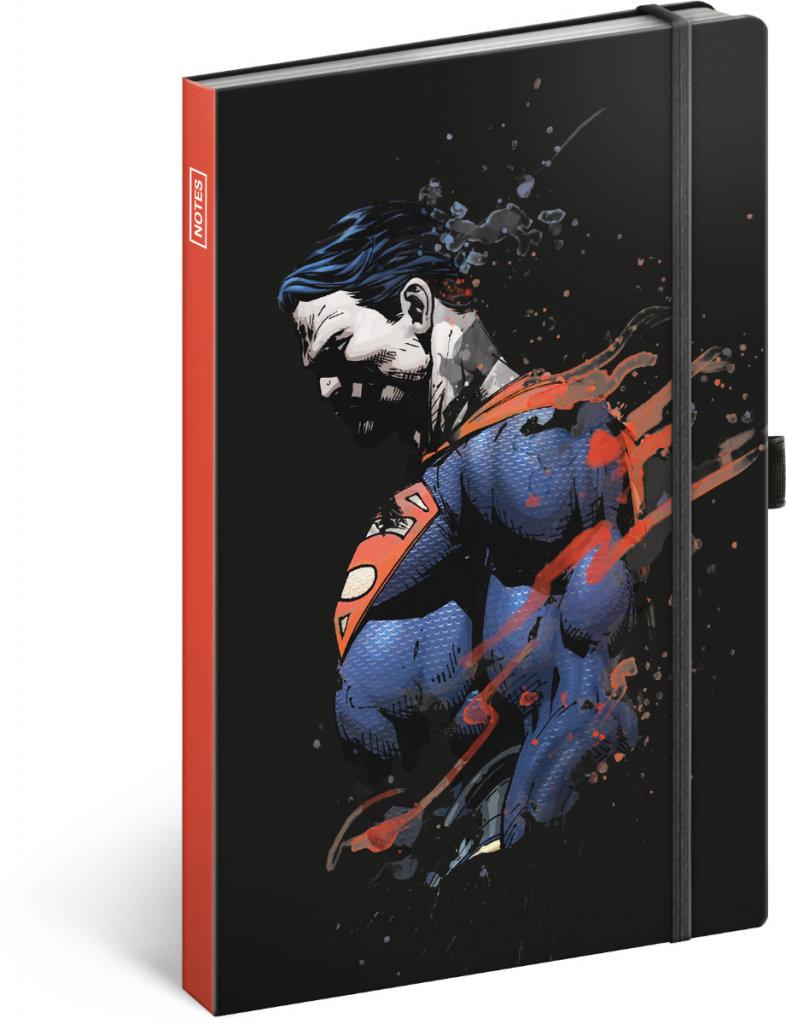 Obrázek Notes Superman, linkovaný, 13 × 21 cm