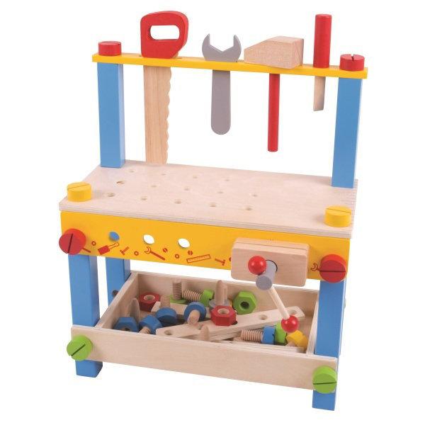 Obrázek Bigjigs Toys Můj první pracovní stůl