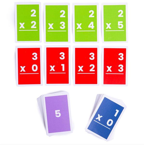 Obrázek Bigjigs Toys Kartičky násobení 1-6