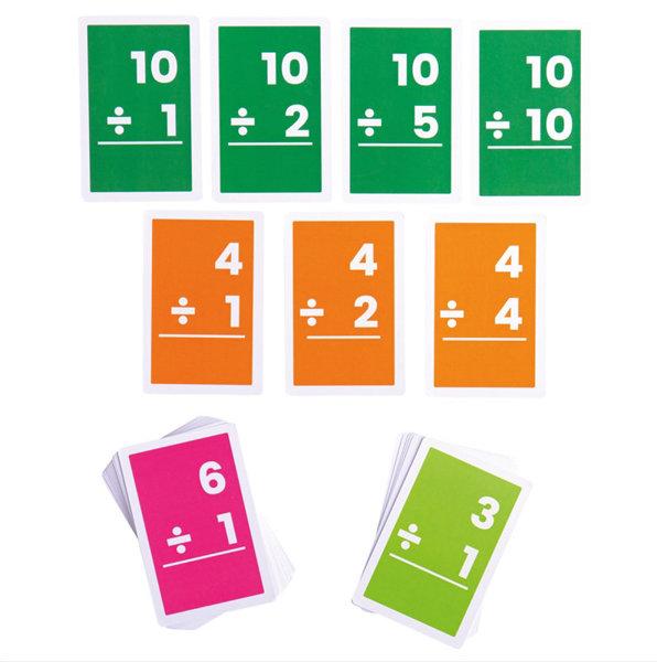 Obrázek Bigjigs Toys Kartičky dělení 1-10