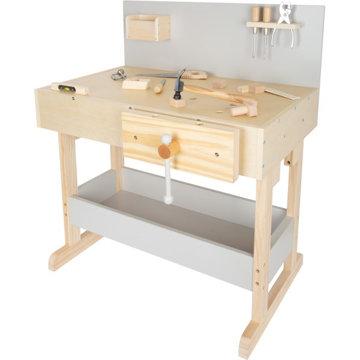 Obrázek Small Foot Dětský pracovní stůl šedý s nářadím
