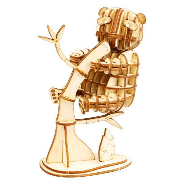 Obrázek RoboTime dřevěné 3D puzzle Panda