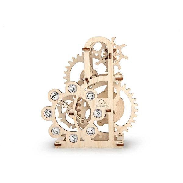 Obrázek Ugears 3D dřevěné mechanické puzzle Dynamometr