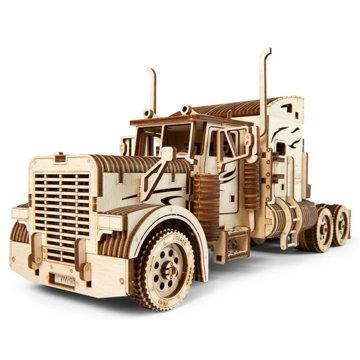 Obrázek Ugears 3D dřevěné mechanické puzzle VM-03 Tahač Heavy Boy