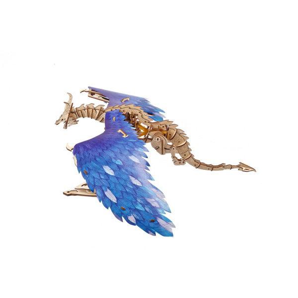 Obrázek Ugears 3D dřevěné mechanické puzzle Vířící drak