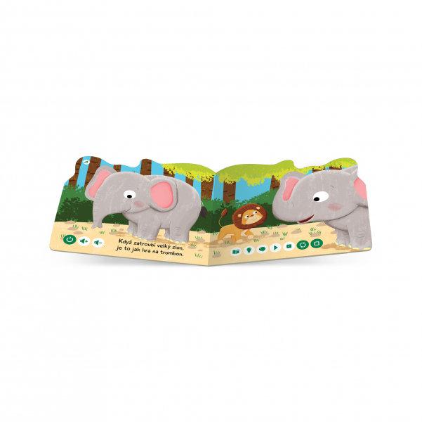 Obrázek Kouzelné čtení - minikniha Slon