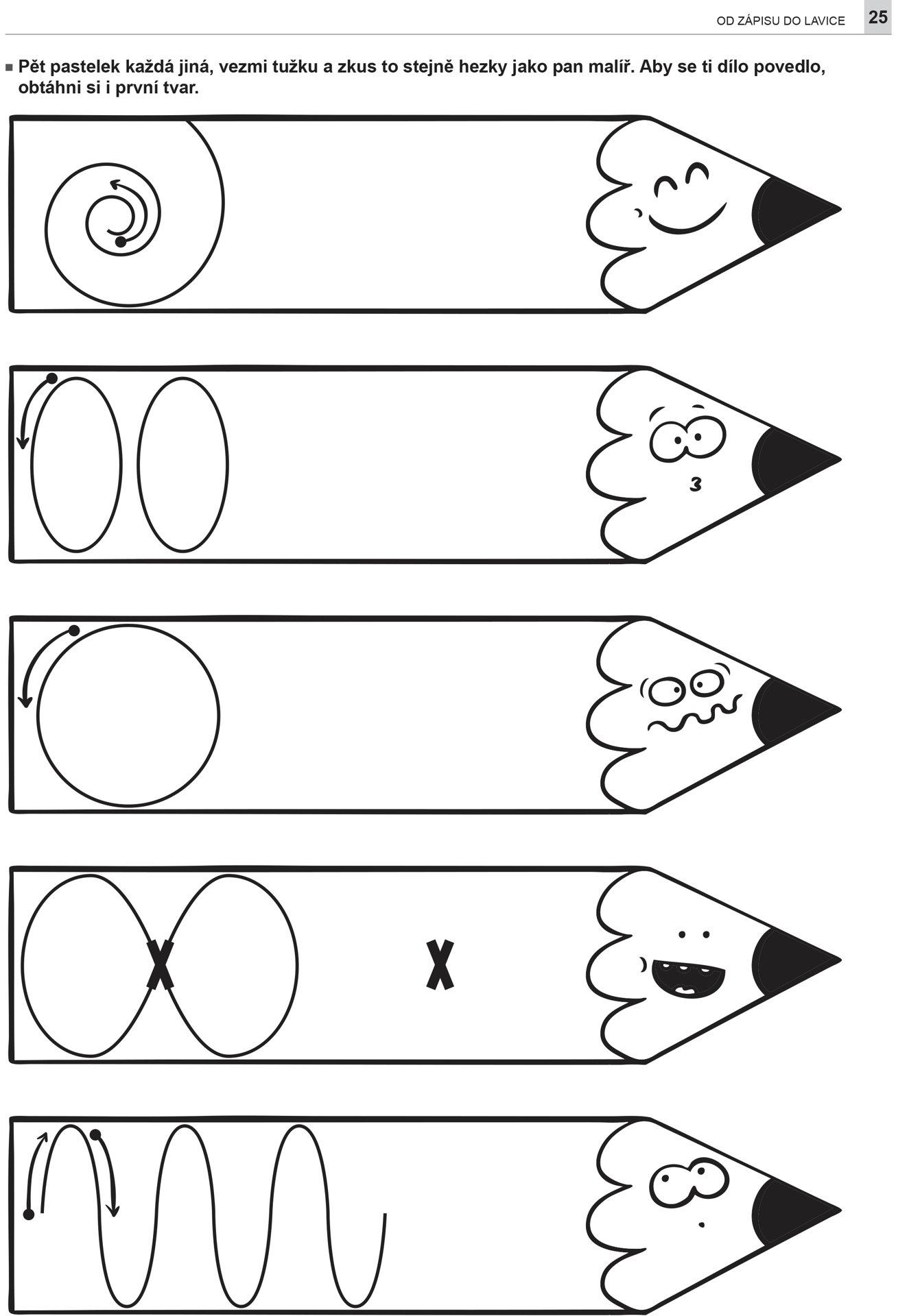 Obrázek Od zápisu do lavice - Grafomotorika