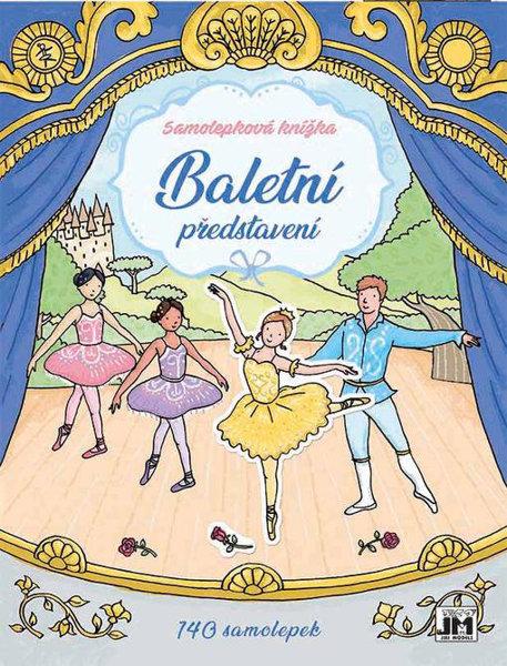 Obrázek Baletní představení - Samolepkové knížky