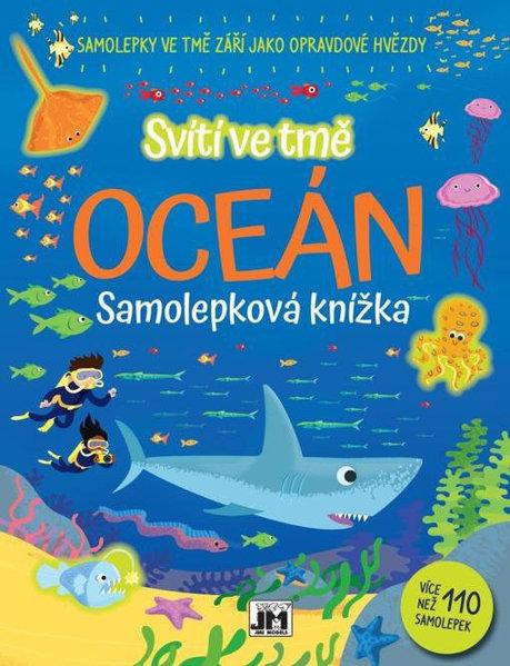 Obrázek Oceán - Svítí ve tmě - samolepková knížka