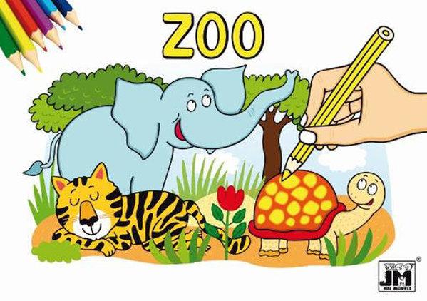 Obrázek Zoo - Omalovánky A5 Nelicenční