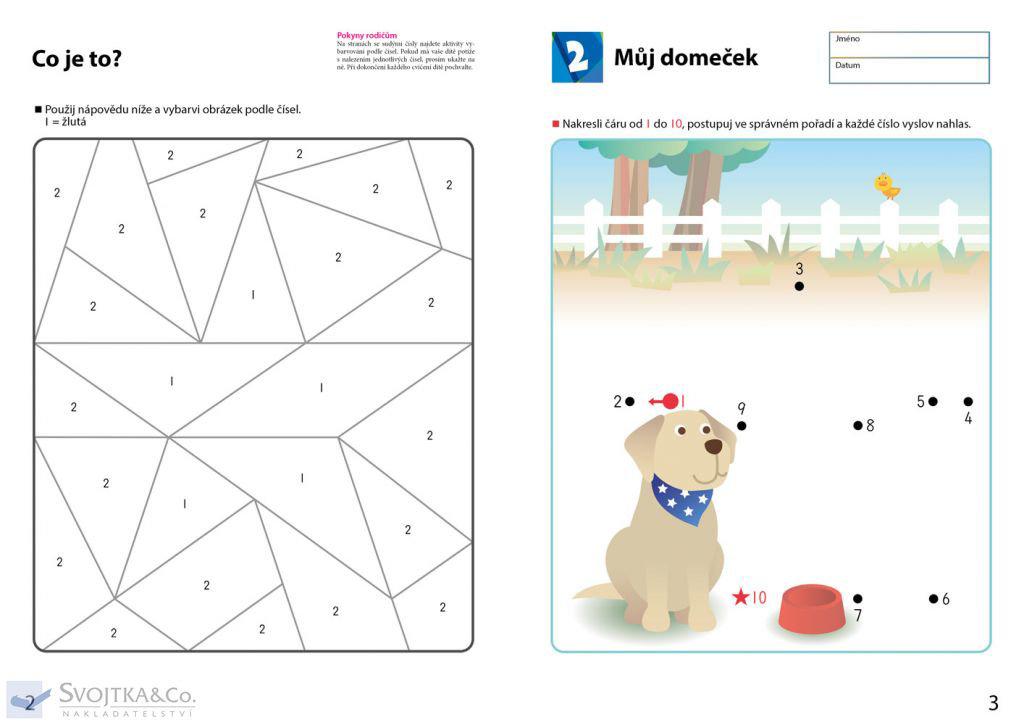 Obrázek Můj pracovní sešit Hry s čísly 1-70