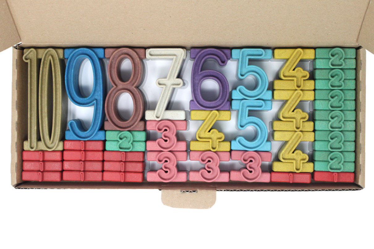 Obrázek ReWood Číselná věž Montessori