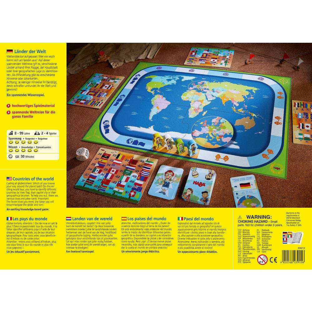 Obrázek Rodinná společenská hra Krajiny světa Haba