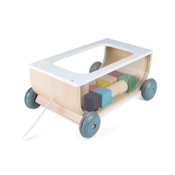 Obrázek Sweet Cocoon vozík s kočkami Janod
