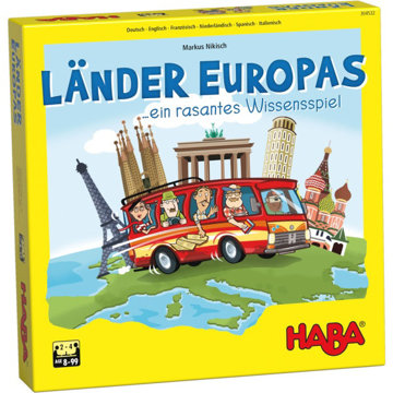 Obrázek Rodinná společenská hra Krajiny Evropy Haba