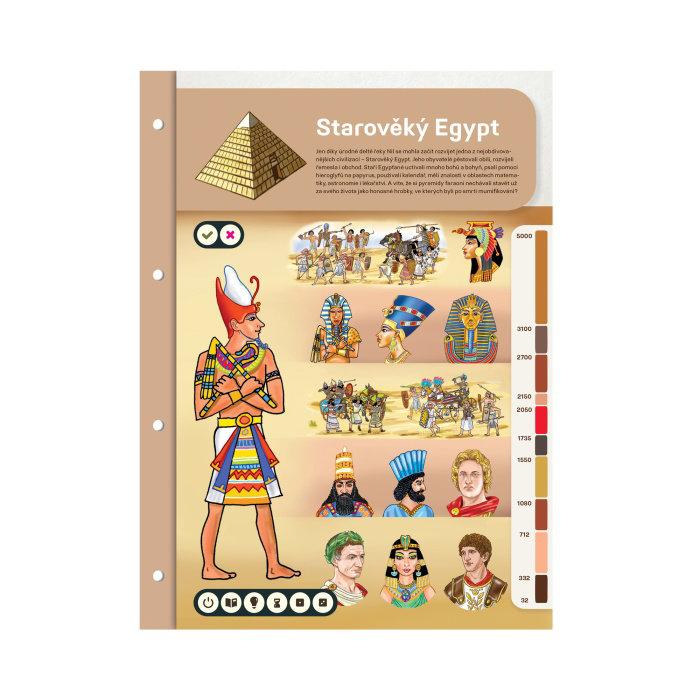Obrázek Kouzelné čtení - Dvoulist Starověký Egypt