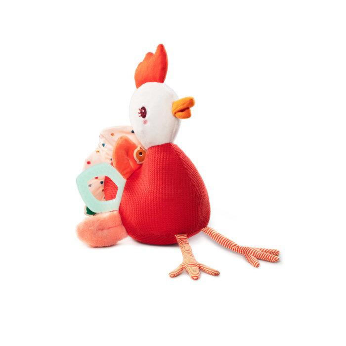 Obrázek Lilliputiens - slepička Paulette - plyšová hračka s aktivitami