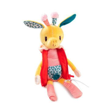 Obrázek Lilliputiens - žirafa Zia - učíme se oblékat