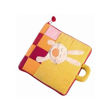 Obrázek Lilliputiens - Textilní knížka - Dobrou noc, malý králíčku
