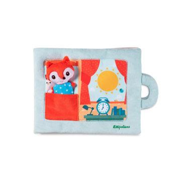 Obrázek Lilliputiens - textilní didaktická knížka - Dobré ráno liško Alice